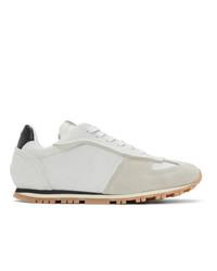 Maison Margiela Off White Runner Sneakers