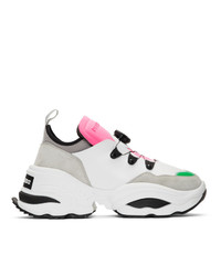 DSQUARED2 Off White The Rolling Giant Sneakers