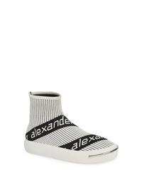 Alexander Wang Pia Logo Sock Sneaker