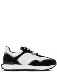 Givenchy White Black Giv Sneakers