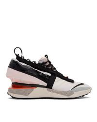 Nike White Ispa Drifter Gator Sneakers