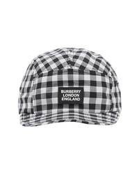 Burberry Gingham Camp Hat