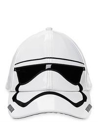 Disney Stormtrooper Faux Patent Leather Baseball Cap Star Wars