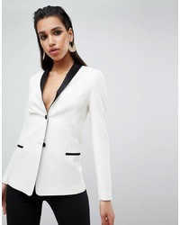 ASOS DESIGN Tailored Longline Cocktail Blazer