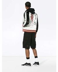 Reversible ska jacket with guilty parties slogan medium 7862997