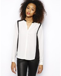 Vero Moda Color Block Blouse Top