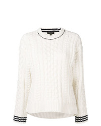 Rag & Bone Contrasting Cuffs Knit Sweater
