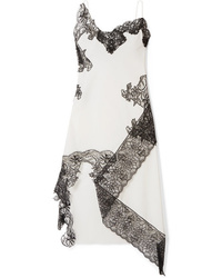 White and Black Cami Dress