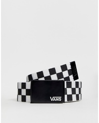 Vans Deppster Belt In Checkerboard