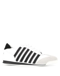 DSQUARED2 Stripe Detail Low Top Sneakers