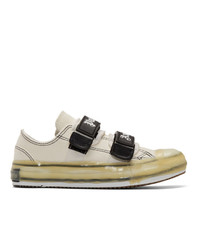 Palm Angels White Logo Vulcanized Sneakers