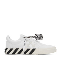 Off-White White Low Vulcanized Sneakers