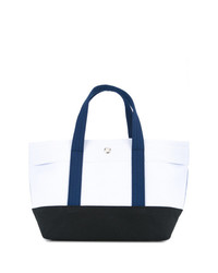 Cabas Colour Block Small Tote Bag