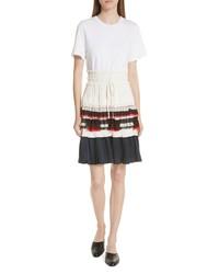 3.1 Phillip Lim Pleated Skirt T Shirt Dress