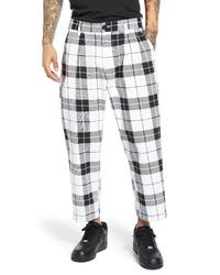 Obey Fubar Plaid Pleated Pants