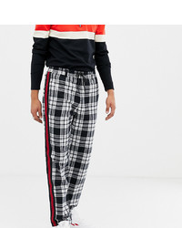 Collusion Tall Skater Fit Check Trousers With