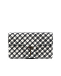 Tomas Maier Chequer T Flap Clutch