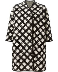 Antonio marras grid print coat medium 446039
