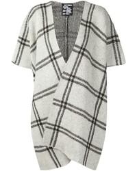 Coco check cardi coat with short sleeve medium 446037