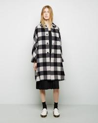 Comme Des Garcons Comme Des Garcons Comme Des Garons Comme Des Garons Buffalo Check Wool Coat