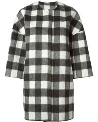 MSGM Checked Coat