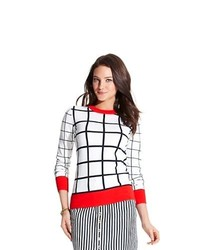 Tommy Hilfiger Windowpane Sweater