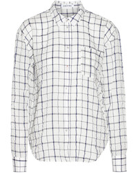 Elizabeth and James Carine Checked Woven Shirt