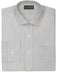 Lauren Ralph Lauren Non Iron Black And White Check Dress Shirt