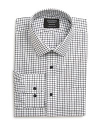Nordstrom Men's Shop Smartcare Trim Fit Check Dress Shirt