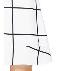 Nobrand Jupe Check Peplum Skirt
