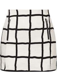 Topshop Petite Window Pane Pelmet Skirt