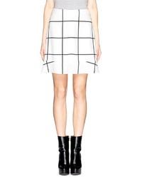 Jupe check peplum skirt medium 141727