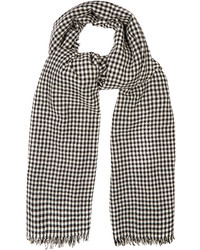 Etoile Isabel Marant Isabel Marant Toile Ascah Hounds Tooth Wool Scarf