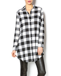 Buffalo print shirtdress medium 329293