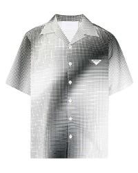 Prada Gradient Effect Print Shirt