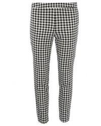 Dorothy Perkins Black And White Check Lyla Tube Pants