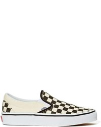 Classic slip on sneaker checkerboard medium 235624