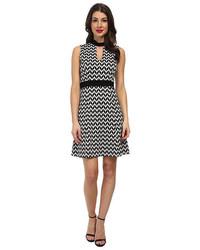 Karen Kane Knit Chevron Dress