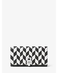 Michael Kors Michl Kors Miranda Applique Leather Continental Wallet