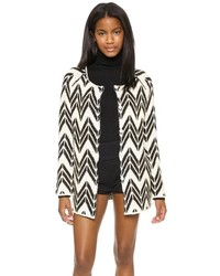 Joa chevron stripe cardigan medium 116040
