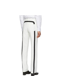 Random Identities White Officer Five Pocket Trousers