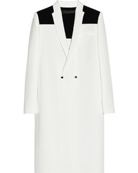 Roland Mouret Vallenar Two Tone Double Crepe Coat