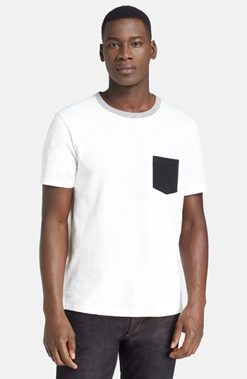 White Shirt Black Pocket | Is Shirt