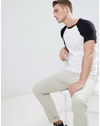 ASOS DESIGN T Shirt With Contrast Raglan