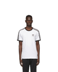 adidas Originals White 3 Stripes T Shirt