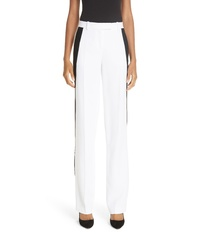 Michael Kors Double Crepe Sable Straight Leg Trousers