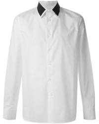 White and Black Dress Shirt