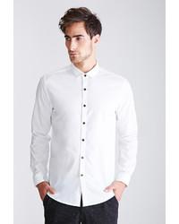 21men 21 Contrast Button Collared Shirt