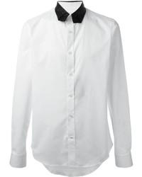 Alexander McQueen Contrast Collar Shirt