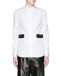 Givenchy Contrast Back Tail Band Shirt